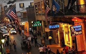 New Orleans Gece Hayatı ve Bourban Caddesi