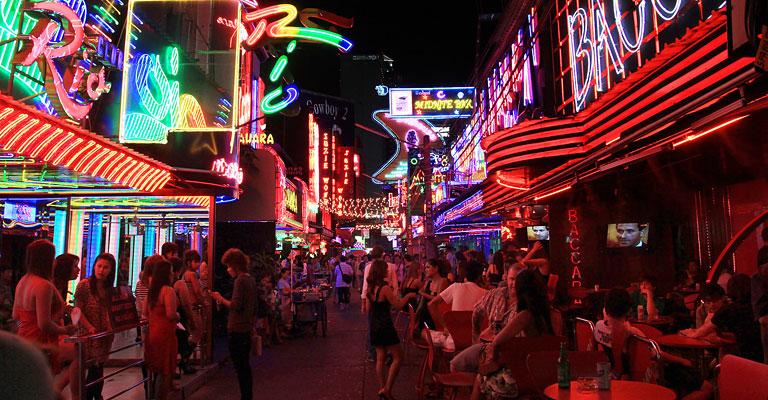 Thailand gece hayatı