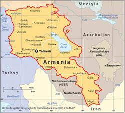 Ermenistanda Olaylı Gece