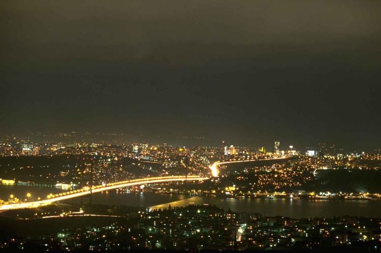 istanbul gece fotoraf